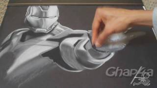 Iron Man 2 - Pastel Drawing Iron Man Character HD [720]