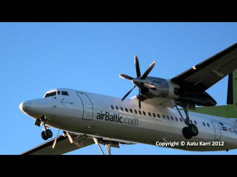 air baltic Fokker 50 Canon eos 600D