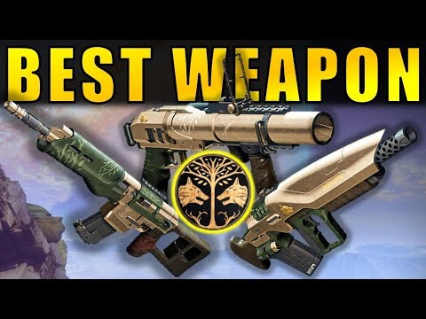 Destiny 2: BEST NEW IRON BANNER WEAPON! | March 2018 thumbnail