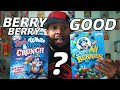 Red, White And Blue CRUNCH Vs OOPS ALL BERRIES REVIEW