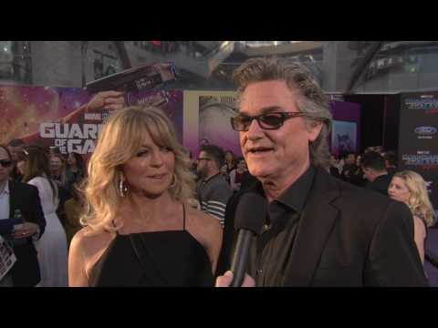 "Guardians of the Galaxy Vol. 2: Kurt Russell ""Ego"" Red Carpet Movie Premiere Interview"