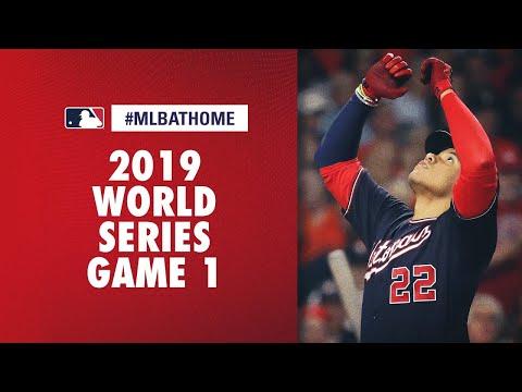 2019 World Series Game 1 (Nationals Vs. Astros) | #MLBAtHome