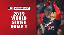 2019 World Series Game 1 (Nationals vs. Astros)   #MLBAtHome