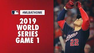 2019 World Series Game 1 Nationals Vs. Astros | #mlbathome