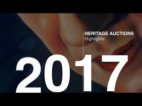 Heritage Auctions 2017 Highlights