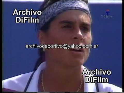 Tenis Gabriela Sabatini Vs Fernandez - DiFilm 1995