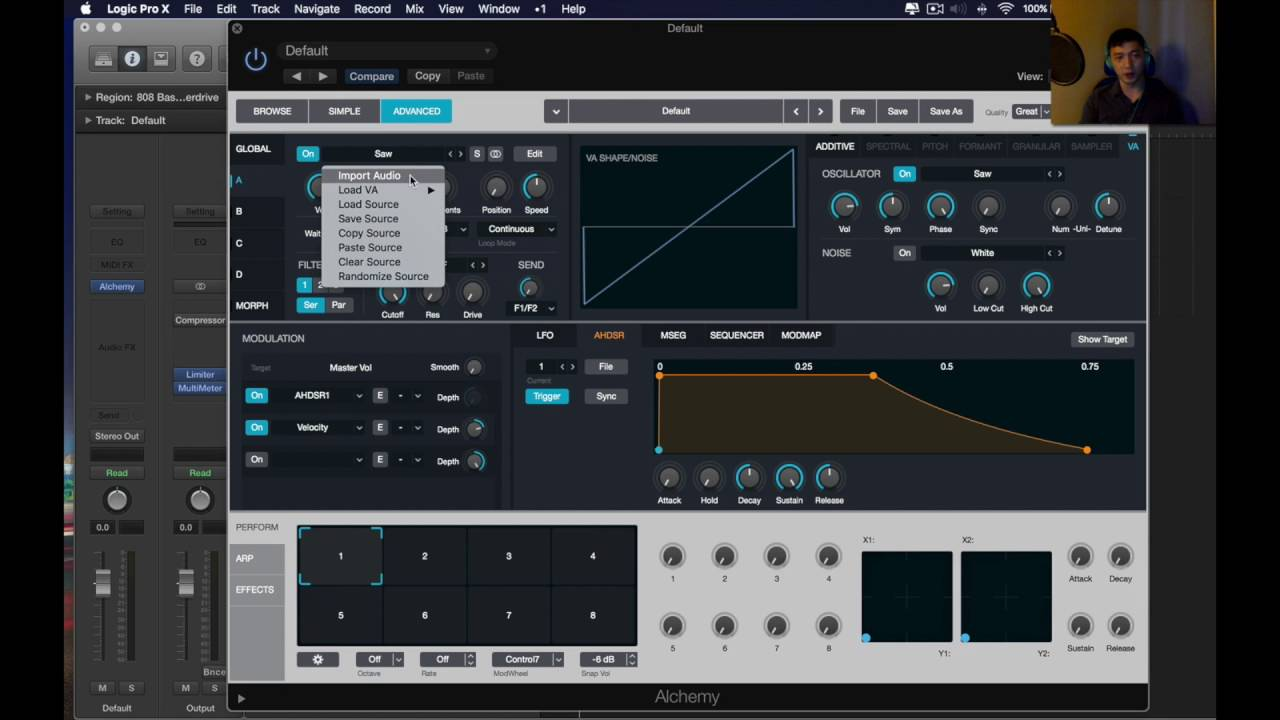 How to use 808 Samples in Logic Pro X