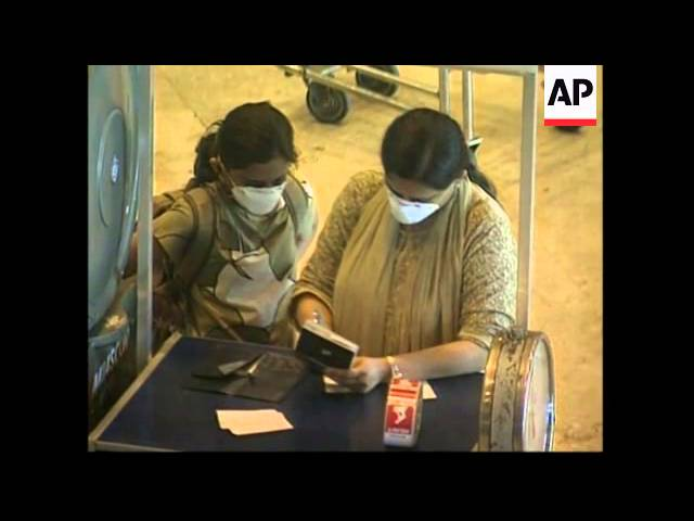 Screening for SARS introduced at airport