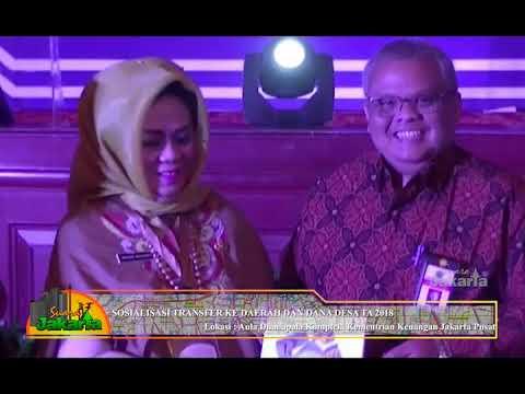 SUARA JAKARTA SOSIALISASI TRANSFER KE DAERAH & DANA DESA TA 2018