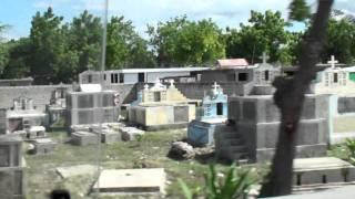Haiti - Rice Production and Cemetery