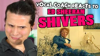 Download Vocal coach Tristan Paredes reacts to Ed Sheeran - Shivers