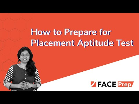 How to Prepare for Placement Aptitude Test | Placement Preparation | Aptitude Tests for Placements