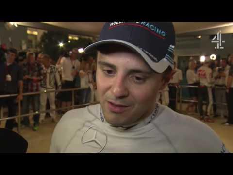 "2016 Abu Dhabi - Post-Race:  ""It's important to finish fighting, like I started"" - Massa"
