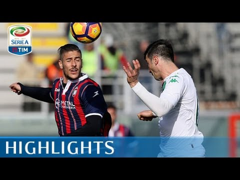 Crotone - Sassuolo - 0-0 - Highlights - Giornata 27 - Serie A TIM 2016/17