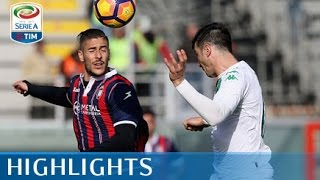 Video Gol Pertandingan Crotone vs Sassuolo