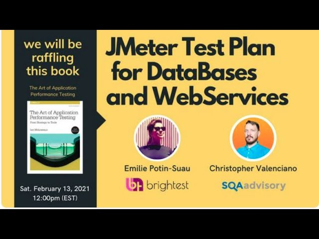 QA on the Move & PtU - JMeter Testplan for Databases and Webservices