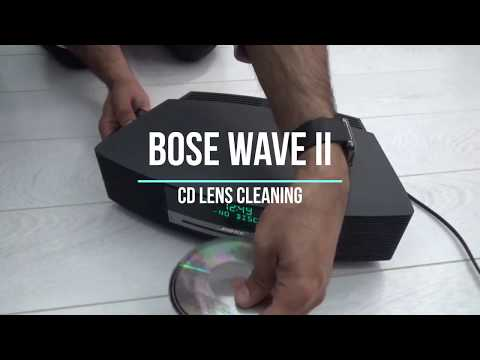 BOSE WAVE II CD LENS CLEANING