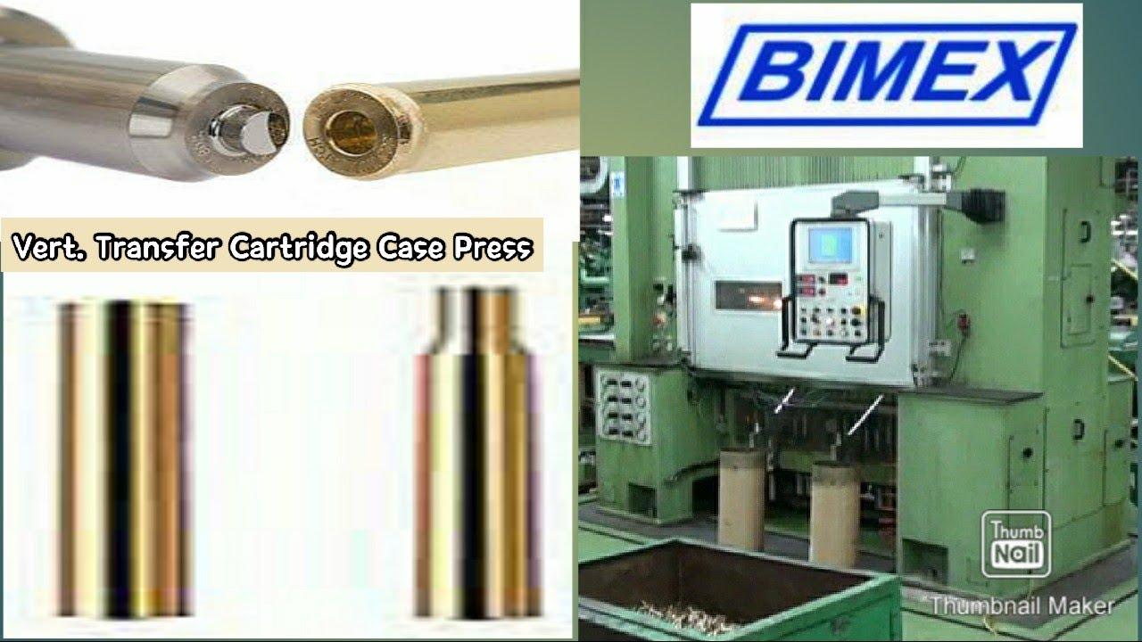 Vertical Transfer Press for Cartridge Case | Ammunition Machinery