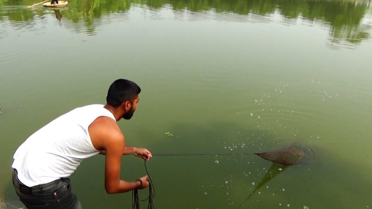 Best Cast Net Fishing Videos In Village Pond ( Part 6 )