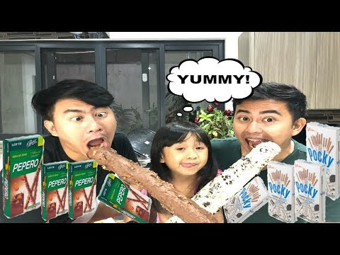 DIY PEPERO VS. POCKY WITH KAYCEE & RACHEL