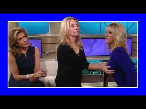 Suzanne Somers Offends Kathie-Lee Gifford and Hoda Kotb