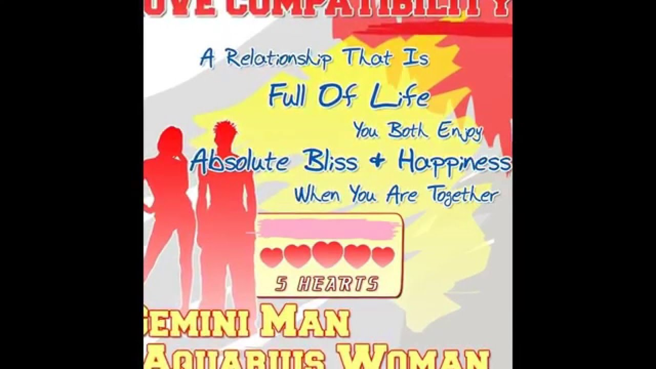 Are cancer woman and gemini man compatible