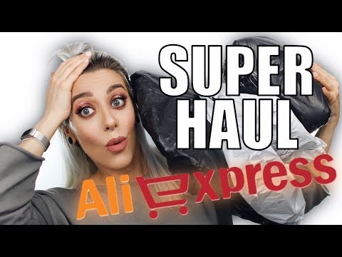 SUPER HAUL ALIEXPRESS LOW COST + REBAJAS PULL & BEAR!