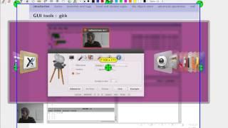 Example of a DIY screencast setup for Linux