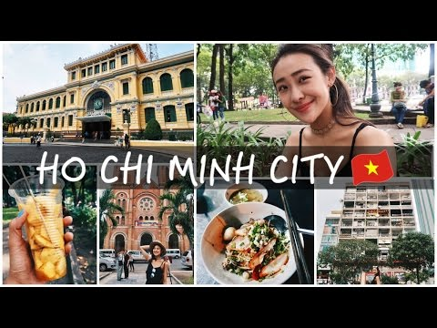【Travel Diary】HO CHI MINH CITY VLOG 和我一起走馬看花胡志明市! | VickyVickyChanChan