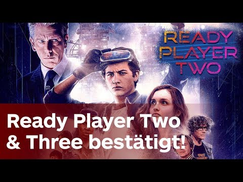 Ready Player Two & Three confirmed! | Ernest Cline über Ready Player One