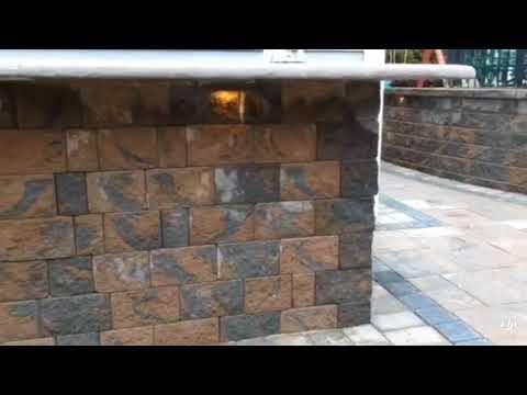 Cambridge Paver Patio Outdoor Kitchen Youtube