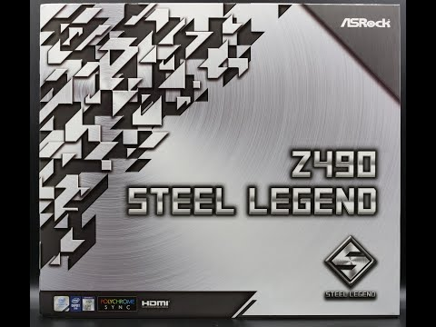 Asrock Z490 Steel Legend : Unboxing & RGB Demo
