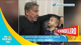 Ricardo Montaner le da su último adiós a Brunito   Un Nuevo Día   Telemundo