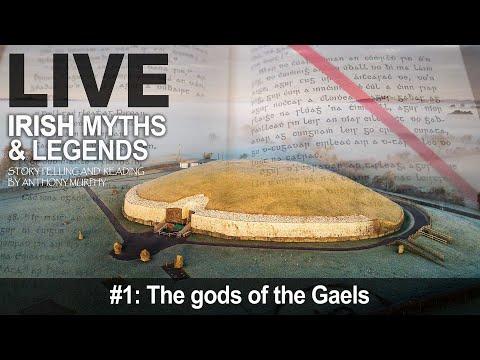 Live Myths Episode 1: The Tuatha Dé Danann, Fomorians, Fir Bolgs And More