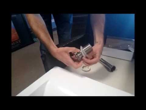 How to Install a Pop Up Drain in Your Sink