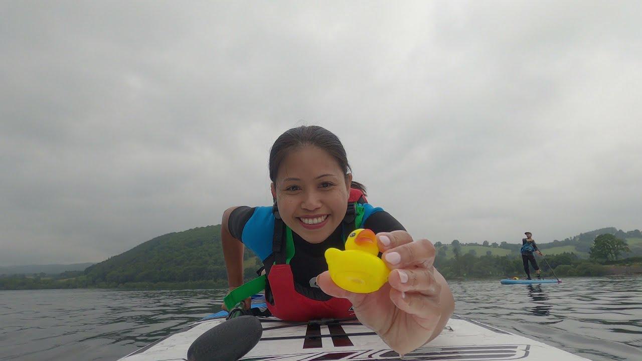Vlog ชีวิตในอังกฤษ | เรียน Paddle board ครั้งแรกกับครูฝรั่ง จะตกน้ำใหม  Lake district by Tui