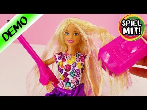 BARBIE Haare Stylen Crimp & Curl | WELLEN Und LOCKEN | Barbie Unboxing