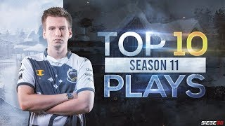 Top 10 Plays | R6 Pro League S11 Highlights