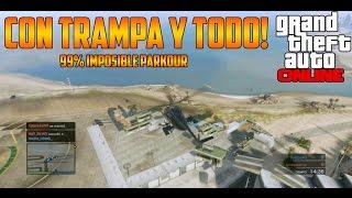 CON TRAMPA Y TODO! | GTA V PARKOUR 99% IMPOSIBLE