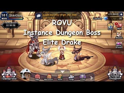 ROVU - Instance Dungeon Boss Sunken Ship (Elite Drake)