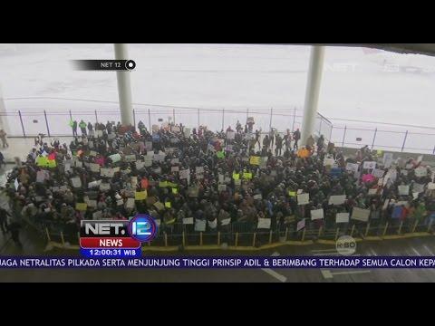 Warga Amerika Gelar Unjuk Rasa Protes Kebijakan Presiden Donald Trump - NET 12 Mp3