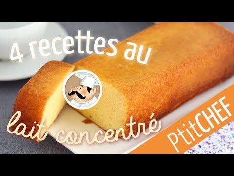 top-4-de-nos-recettes-au-lait-concentré---ptitchef.com