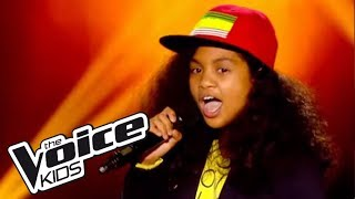 The Voice Kids 2014 | Naylinz - Papaoutai (Stromae) | Blind Audition