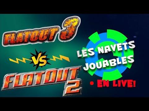 Live n°6 - Episode VERSUS sur FlatOut 1, 2, 3 et Wreckfest