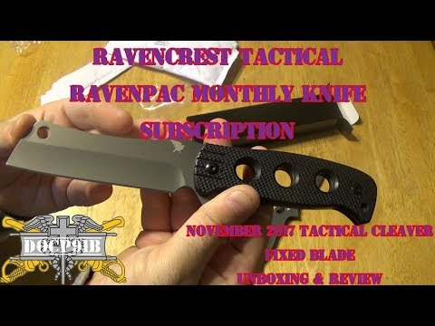 Ravencrest Tactical OTF Knife Review (Automatic Knife) by