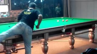 Stephen Lee vs. Imtiaz Serwer frame 1 @ S Club, Tmn Serdang Perdana. 2.12.2016