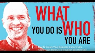 CHM Live | What You Do Is Who You Are: How to Create Your Business Culture
