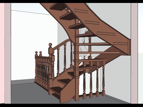 Проектирование лестницы конструктор