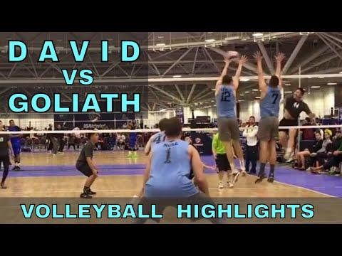 DAVID vs GOLIATH - Supple Leopards vs Tall Ones Volleyball HIGHLIGHTS (USAV Nationals Game 7)