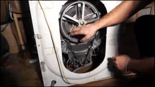 как бесплатно одеть ремень у стиральной машины Видео 11